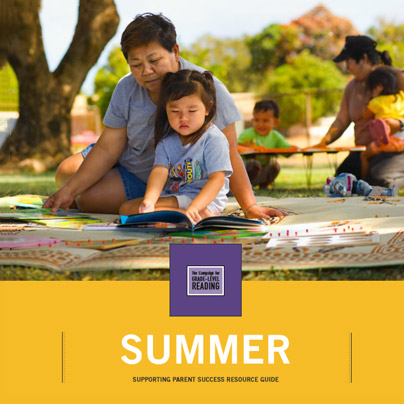 Summer Learning Parent Guide