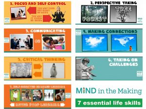 Photo: Mind in the Making essential life skills