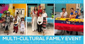 Sarasota County Schools Multi-Cultural Family Event (ESOL)