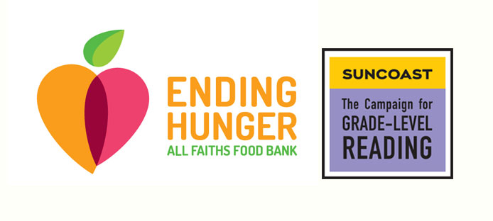 SCGLR and All Faith's Food Bank logo