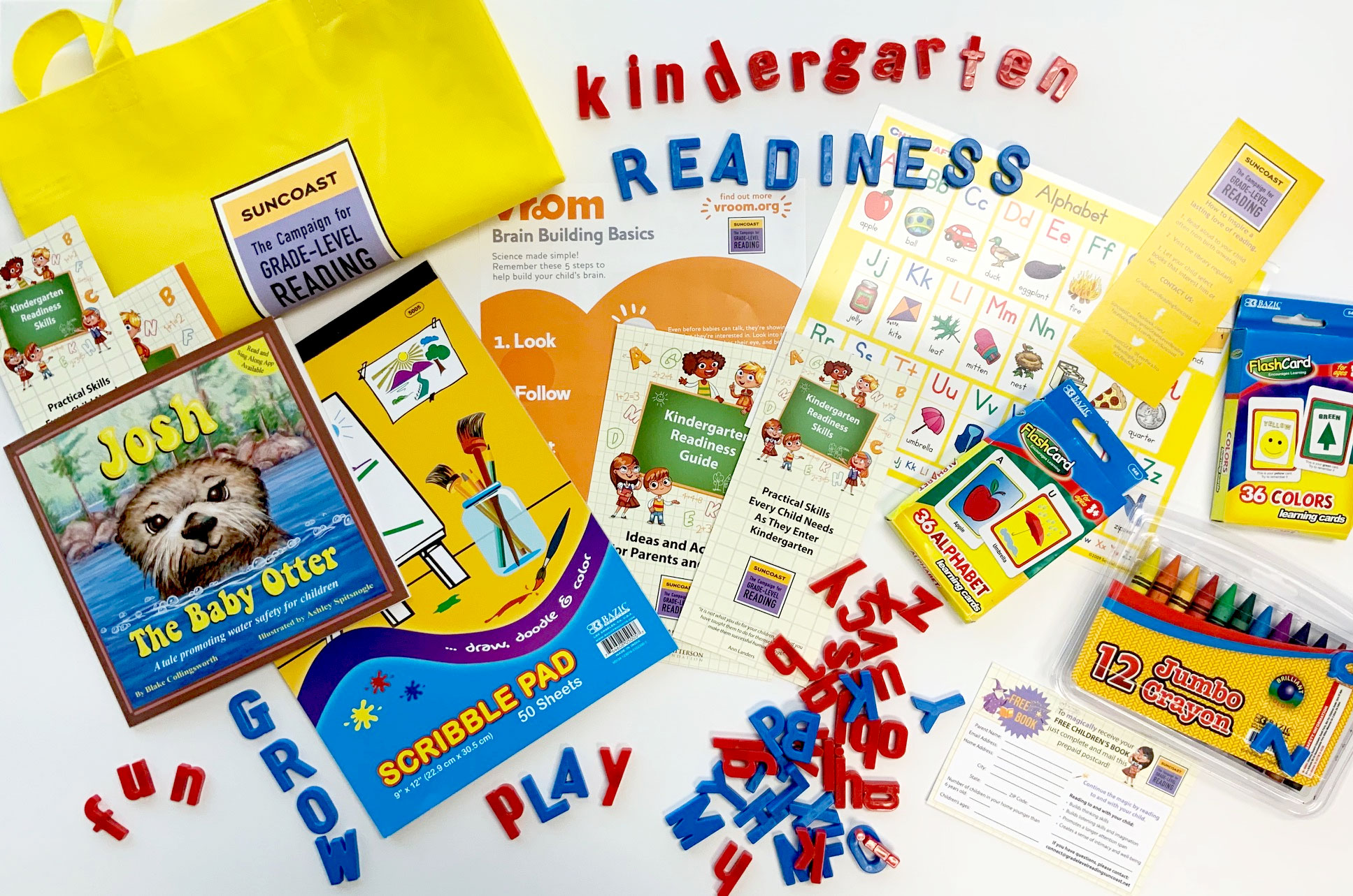 Kindergarten Readiness Bags
