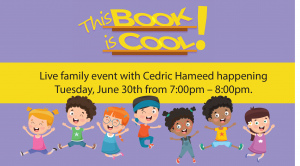 Live Family Event with Cedric Hameed