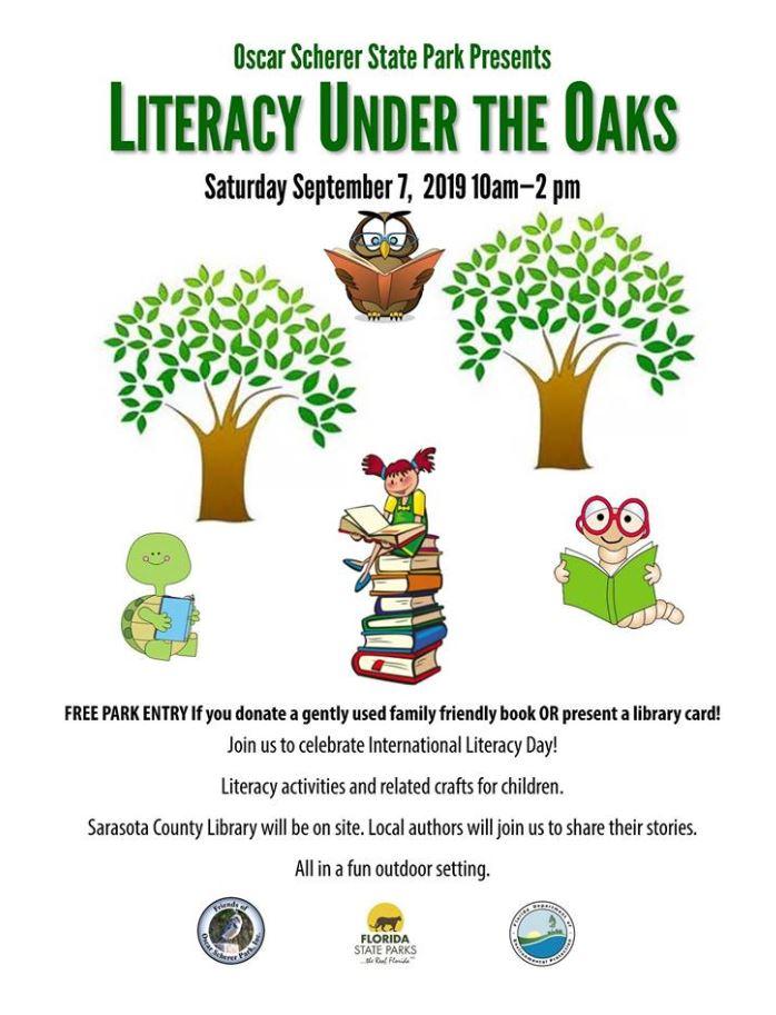 Literacy Under the Oaks